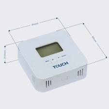 Modbus RS485 output temp sensor -20 ~ 80 temperature transducer with LCD display