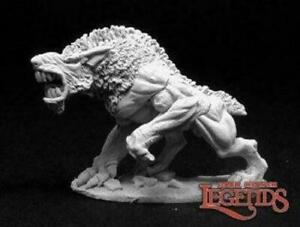 Reaper Miniatures - Moor Hound Metal Miniature - D&D AD&D Pathfinder Frostgrave