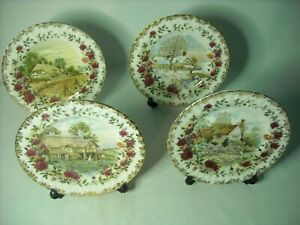 Choose ONE OR MORE Plates FOUR SEASONS Royal Albert Plate Old Country Roses