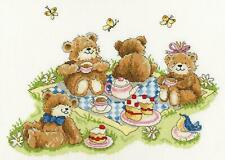 Bothy Threads counted cross stitch kit - Teddy Bears' Picnic artwork by Margaret