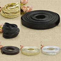 10m PU Leather Ribbon Fabric DIY Handmade Webbing Choker Clothes Sewing Material