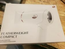 T3 Featherweight Compact Folding Hair Dryer - White