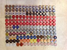 Lot Of 180 Beer Bottle Caps Old Model Style Miller MGD Light Budweiser Leinies