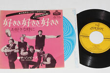 """THE ZOMBIES -I Love You / Whenever You're Ready- 7"""" 45 Japan Pressung"""