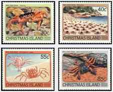 Timbres Faune marine Crabes Christmas 185/8 ** lot 18042
