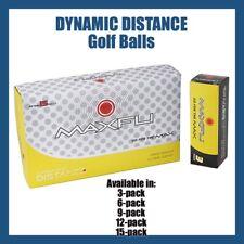3-Ball Set MAXFLI Dynamic Distance Golf Balls with High COR Core - WHITE Colour