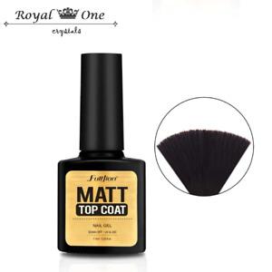 Top Coat MATT No Wipe UV/LED Nail Gel Polish For professional use only UK 24h
