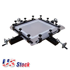 "US Stock High Precise 24"" x 24"" Manual Screen Stretching Machine Screen Printing"