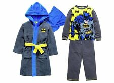 Batman Robe With Hood And Cape and Pyjamas age 5-6 Years. BNWT. FREE POSTAGE