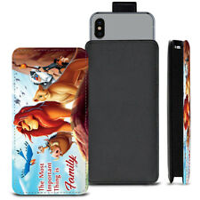 Lion King Family PU Leather Pull Tab Case For Alcatel Idol 4S Windows