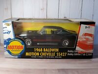 ERTL American Muscle 1968 Chevy Chevelle SS 427 Baldwin Motion 1:18 Diecast Car