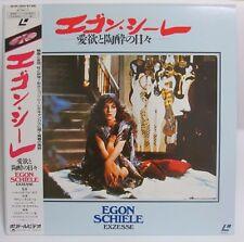 EGON SCHIELE -   Japanese original Vintage LASER DISC