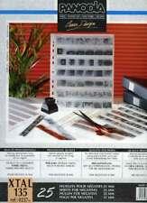 PANODIA XTAL 135 jeu de 25 feuillets cristal négatifs 35mm