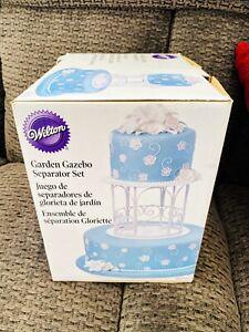 New WILTON Gazebo Cake Separator Set