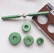 Watch Opener Accessories Hand Wrench w/ 4 x Grooved Dies for Omega Seamaster