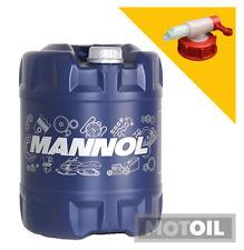10W-60 Motoröl 20 Liter MANNOL Racing+Ester + HAHN ACEA A3 B3 B4 API SN SM CF