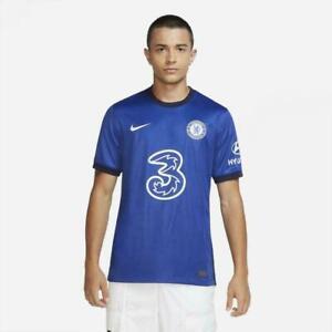 Nike CHELSEA FC 2020/21 STADIUM HOME Jersey NEW CD4230-496 Blue Men's Size M