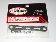 Cuerpo de carbono FiveStars FS-2046 Post Brace Para Kyosho Pure diez V-One RRR