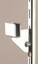 """Count of 8 Retail 3"""" Dimensional Bracket Holds ½� x 1½� Dimensional Hangrail"""