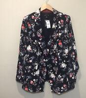 Lane Bryant Multicolor Floral Blazer Size 20 NWTs $89