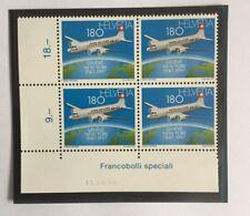 4 timbres suisses YT CH1537 se tenant neufs** daté Zum CH 918