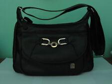 Borsa nera da spalla tracolla donna H B collection 5ba14b0a345