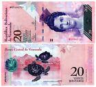 VENEZUELA Billet 20 BOLIVARES 2013 P91 TORTUE / LUISA DE ARISMENDI UNC NEUF