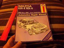 Haynes Repair Manual Mazda 626 & MX-6 1983-91 #1082