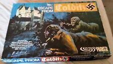 ESCAPE FROM COLDITZ Board Game - Original 1973 - PARKER GAMES .Vgc!