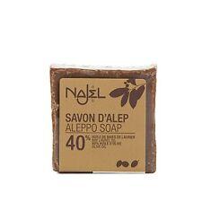Sapone di Aleppo 40% di olio bacche di Alloro - Najel
