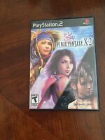 Final Fantasy X-2 Sony PlayStation 2 Ps2 Game Cib NG3