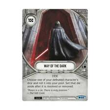 STAR WARS: DESTINY WAY OF THE FORCE * Way of the Dark