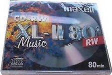 Maxell Cd-rw 80 MU CD Rohling Music