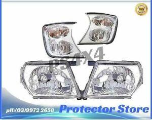 Nissan Patrol GU 1997-2007 Headlights  (LHS, RHS)