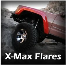 Notch Customs X-Max Fiberglass Fender Flares fits 84-01 Jeep Cherokee XJ 4 Door