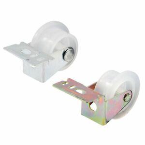 Prime-Line R 7147 Drawer Guide Roller Assembly, 1 in. Outside Diameter, Plastic