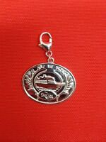 Disney Cruise Line Bracelet Necklace Charm Dream 2011 Inaugural sterling SILVER