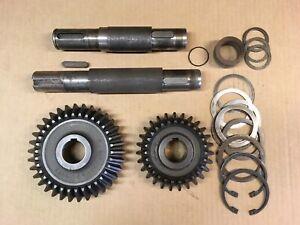 Main Gearbox Gear/shaft Set For Krone Am 241 Disc Mower