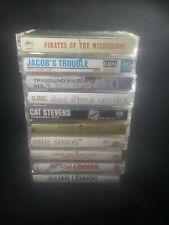 Lot Of 10 Classic Singer/Songwriter Rock Cassette Tapes Paul Simon Lennon & More