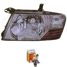 Halogen Headlight Left Mitsubishi Pajero 01.03-12.06 H4 without Motor 1381956