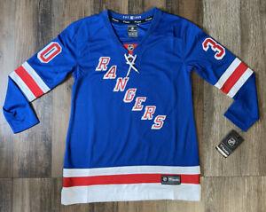 Authentic New York Rangers Henrik Lundqvist Fanatics Jersey NHL Womens Med NEW