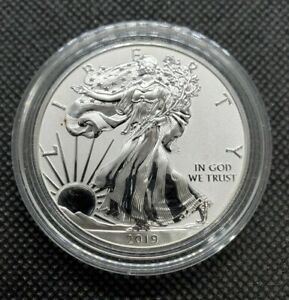 2019-W 1oz American Silver Eagle Enhanced Reverse Proof | Pride Of Two Nations H