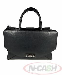 BIGSALE! AUTHENTIC $2845 GIVENCHY Medium Obsedia Black Bull Leather Bag