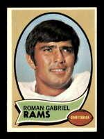 1970 Topps #100 Roman Gabriel EXMT+ LA Rams 503855