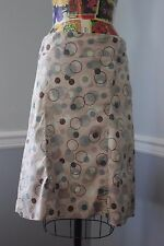 A PEA IN THE POD Circle Polka Dot Maternity Skirt Size Small S Fully Lined
