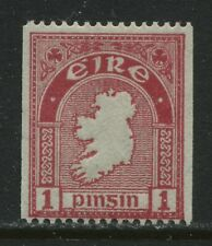 Ireland 1934 1d Coil stamp mint very lightly hinged