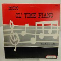 Brother Harold Lootens More Ol Time Piano LP Record Album Vinyl