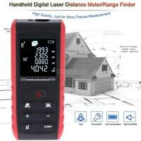 60m/196ft LCD Digital Laser Distance Meter Range Finder Diastimeter Tester Tool