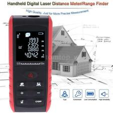 60m/196ft LCD Digital Laser Distance Meter Range Finder Diastimeter Tester Tool