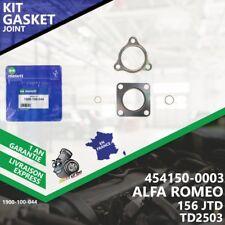 Gasket Kit Joint Turbo ALFA ROMEO 156 JTD 454150-3 454150-5003S M.722.BT.24-044